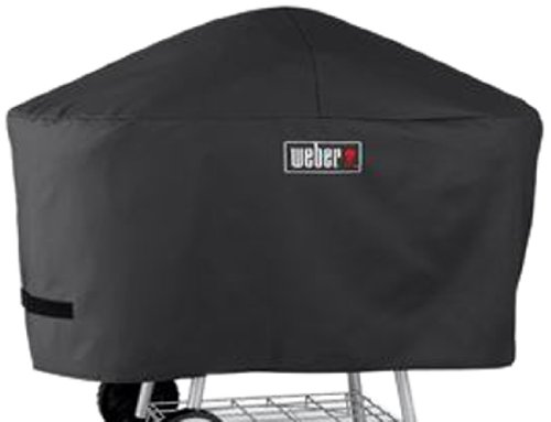 Weber 7457 Premium Cover, Fits Weber One-Touch Platinum Charcoal Grill