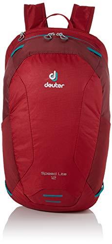 deuter Speed Lite 12 Rucksack, Cranberry-Maron, 44 x 24 x 14 cm, 12 L