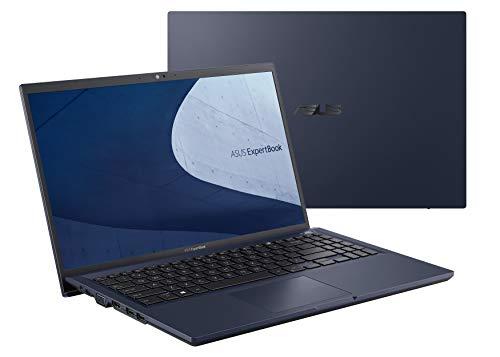 ASUS ExpertBook B1 B1500CEAE-EJ0383R - Portátil 15.6' Full HD (Core i5-1135G7, 8GB RAM, 512GB SSD, Iris Xe Graphics, Windows 10 Pro) Negro Estrella - Teclado QWERTY español