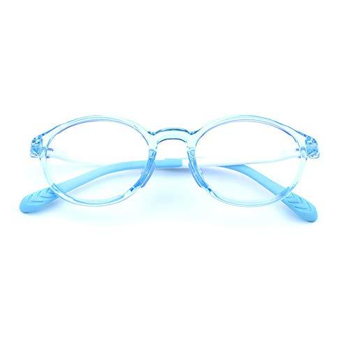 Glasses Gafas Infantiles Anti-Azul 0 °, Ver Ordenador, teléfono móvil. Proteccion de radiacion Anti-UV400, Prevención de la miopía Onda Anti-electromagnetica Gafas Protectoras para niño niña