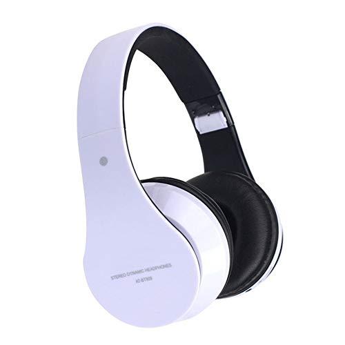 TYXL Auricular inalámbrico Plegable Plegable de los Auriculares estéreo de Bluetooth de la Moda