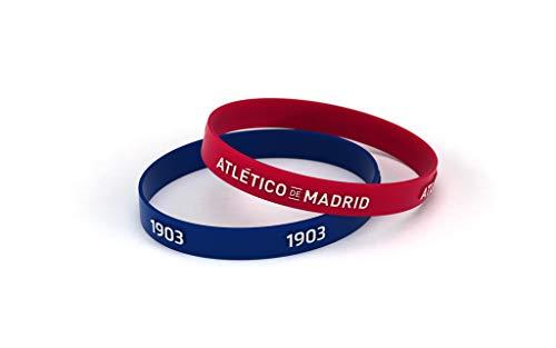 Atlético de Madrid Pulsera Relieve Roja y Azul Junior para Mujer y Niño |...