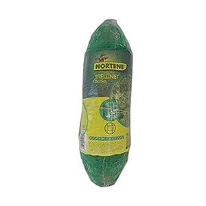 Nortene Trellinet 120230 – Malla para entutorado de plantas y cultivos,  2×10 m