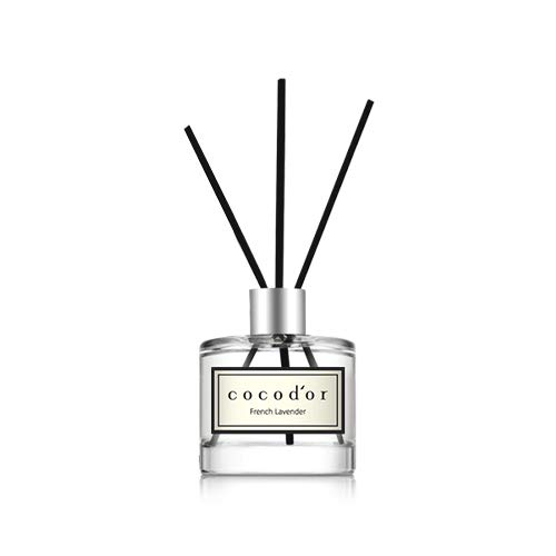 Cocodor Mini Reed Diffuser/French Lavender/1.6oz/Fragrance Decor for Cars Cubicles and Small Rooms/Diffuser Oil Sticks Gift Set