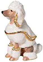 Department 56 Bejeweled Collection Poodle Jeweled Box