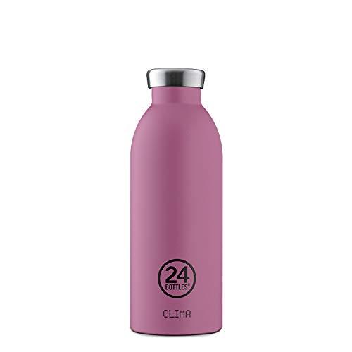 24Bottles Clima Bottle Thermosflasche aus Edelstahl 500ml | Trinkflasche Vakuum isoliert und BPA frei (Mauve)