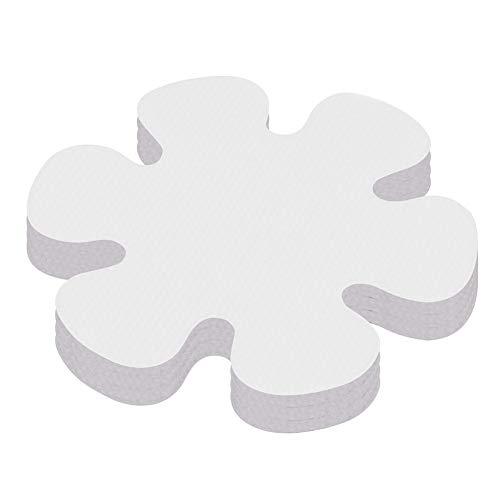 Fly-Dream - Adesivi antiscivolo per vasca da bagno, strisce di sicurezza, con fiocco di neve, per doccia