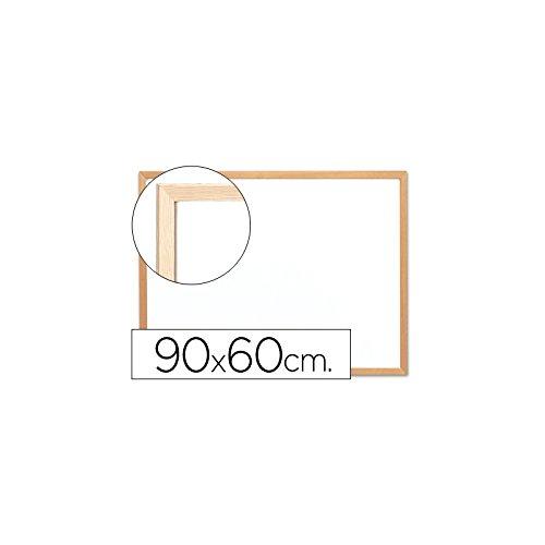 Q-Connect Pizarra Blanca Melamina Marco De Madera 90 x 60 Cm