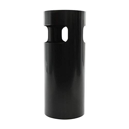 Kartell Schirmständer, Plastik, schwarz, 25 x 60 cm