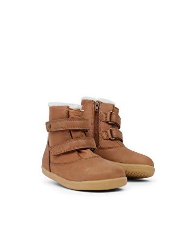 Bobux I-Walk Aspen Winter Boot Caramel est Une Chaussure en Cuir, Doublure Laine mérinos, Semelle Souple - Marron - Caramel, 25 EU EU