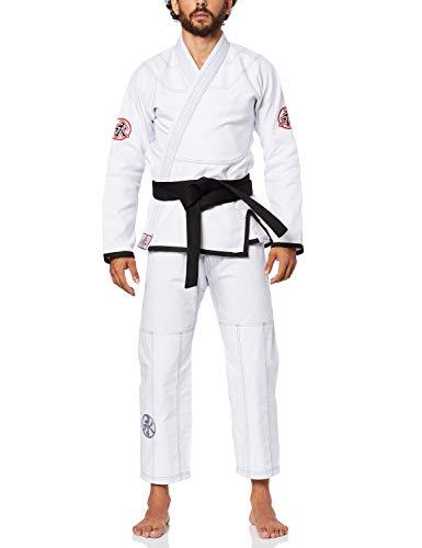 Kimono Jiu Jitsu Slim Fit Branco A4