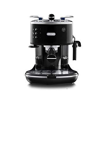 De\'Longhi Icon Eco 311.BK Máquina de café espresso manual y capuchino, café en polvo o vainas E.S.E., 1100 W, negro
