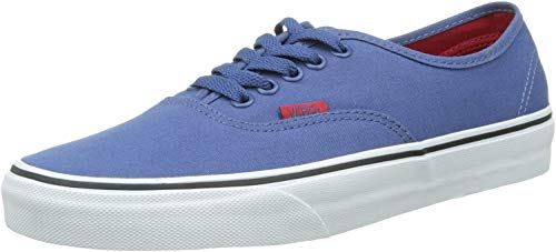 Vans Authentic, Sneakers mixte adulte - Bleu (Sport Pop/Bijou Blue/Racing Red), 35 EU