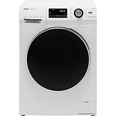 Haier HW100-B14636 Freestanding Washing Machine, LED Display, 1400 RPM, 10kg Load, White