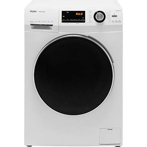 Haier HW100-B14636 Freestanding Washing Machine, LED Display, 1400 RPM, 10kg Load, White