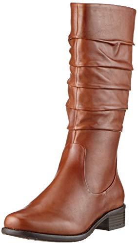 Gerry Weber Shoes Damen Calla 16 Hohe Stiefel, Braun (Cognac Mi24 370), 42 EU