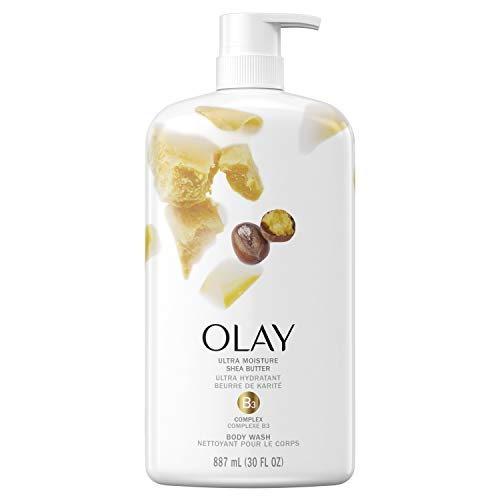 Olay Ultra Moisture Shea Butter Body Wash, 30 Fluid Ounce