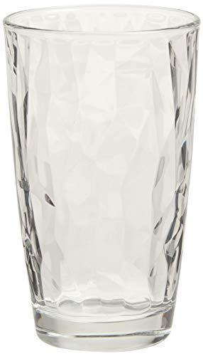 Bormioli Rocco Diamond Cooler Glasses Clear 16 oz Set of 6