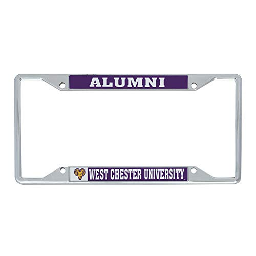 Desert Cactus West Chester University NCAA Metal License Plate Frame for Front or Back of Car Officially Licensed (Alumni)