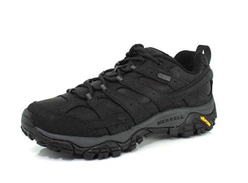 Merrell Moab 2 Prime Waterproof Hiking Shoes - Men's Black 9.5