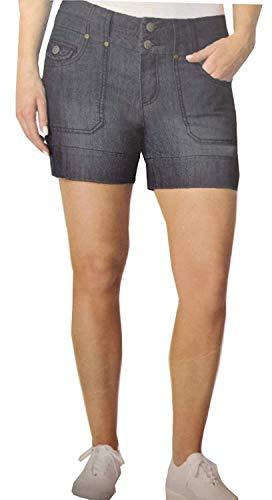Dakota Blue Women's Soft Strech Shorts (Riviera, 12)