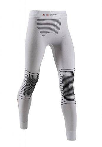 X-Bionic Adultes Vêtements fonctionnels Femme Energizer MK2 UW Pantalon Long - Blanc/Noir, 42/46