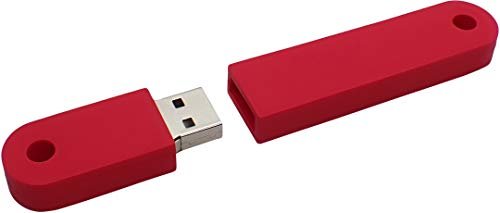 USBfix USB Stick zum Abheften V2 USB30 32GB TypA Rot 1er Pack