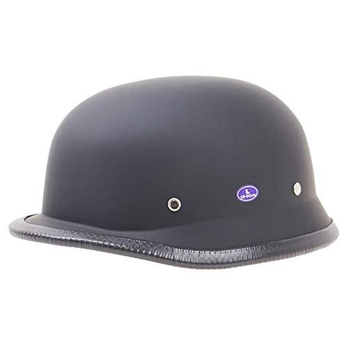 KAISIMYS Motorrad -Halb offener Helm Jet-Helm Roller Retro Mofa Scooter-Helm Chopper Motorrad-Helm, DOT/ECE-Zulassung für Männer und Frauen, Geeignet für Kopfumfang 55-64 cm