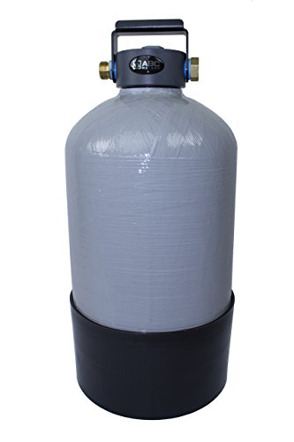 ABCwaters Built Portable Water Softener with Handle 16,000 Grain Capacity, Perfect for Your Mobile Home, Park Model, Tiny Home, Pressure Washing, Car Washing, RV, Boat or Yacht