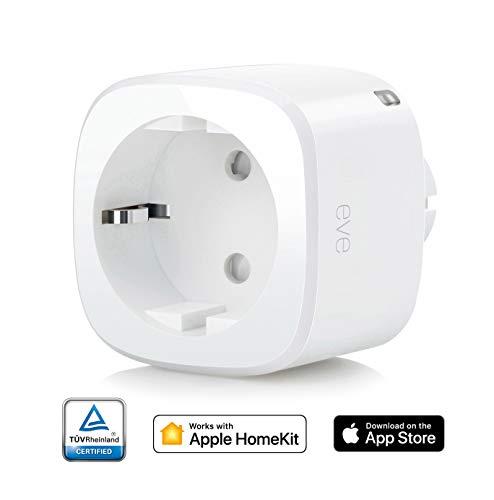 Eve Energy - Smarte Steckdose, Verbrauchsmessung, integrierte Zeitpläne, schaltet Geräte ein &...