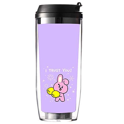 Kingmia Wasserflasche 500ml BPA Freie Trinkflasche, PP Kunststoff, Geschenk fr A.R.M.Y(H02)