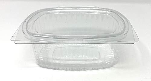 HOTFORM Pack de 50 recipientes Desechables con Tapa, para Guardar Alimentos