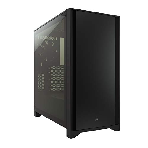 Corsair 4000D Tempered Glass Mid-Tower ATX PC Case - Black