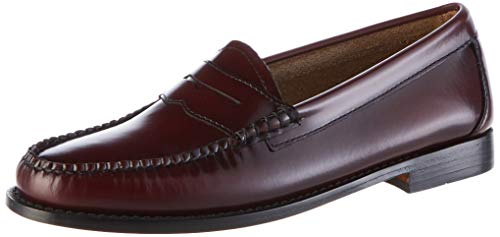 G.H. Bass & Co. Damen Penny Slipper, Rot (Wine Leather 0nn), 38 EU