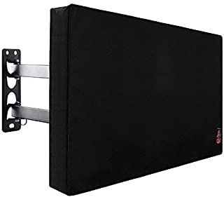 Outdoor TV Cover 49 to 50 inches with Scratch Resistant Interior, Bottom Seal, Weatherproof Protector for LCD, LED, Plasma Television Sets, Built in Remote Controller Storage Pocket