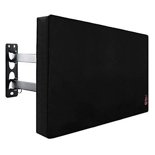 Outdoor TV Cover 49 to 50 inches, Bottom Seal, Waterproof and Weatherproof, Fits Up to 47.5W x 30H inches