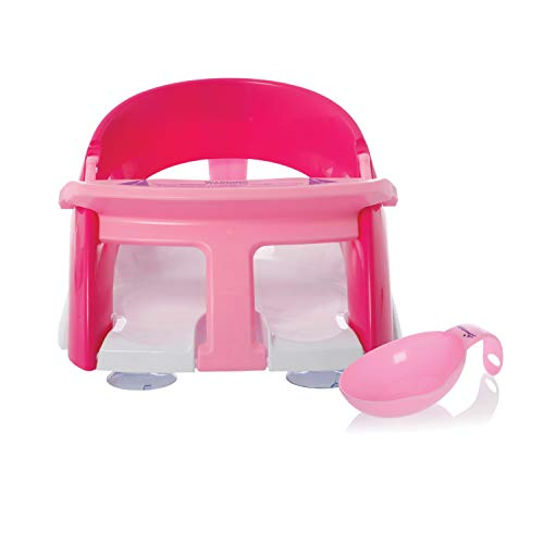 Dreambaby Premium Bath Seat with Scoop (Pink)