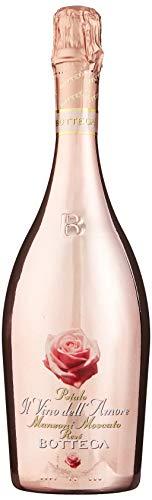 Bottega Ii Vino Dell'Amore Petalo Manzoni Moscato Spumante Rose 75 cl