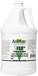 AniMed (389128 Flax Seed Blend Oil, 1 Gallon (Packaging May Vary)