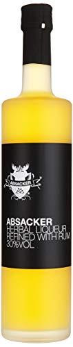 BIRKENHOF Brennerei | Absacker - Kräuterlikör verfeinert mit Rum | (1 x 0,7l ) - 30 % vol.