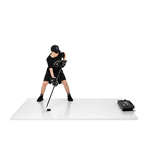 Better Hockey Extreme Dryland Flooring Tiles Passing Kit XL - Awesome Training Aid for Shooting and Stickhandling - Puck Rebounder for One-Timers