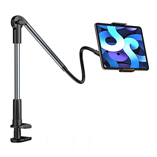 LAHappy Soporte Tablet, Soporte para teléfono Celular con Brazo Cuello de Cisne, Universal Soporte para tabletas de 4.7'-12.9'