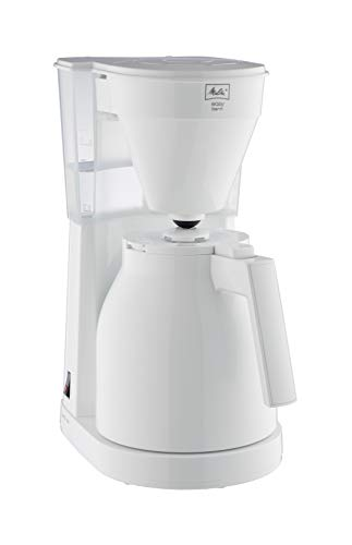 Melitta 1023-05 Easy Therm II Filterkaffeemaschine 1050, Kunststoff weiß