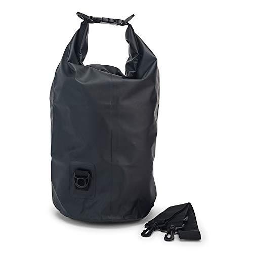 Entucesta Bolsa Impermeable (Drybag) de 10 litros (Negro)