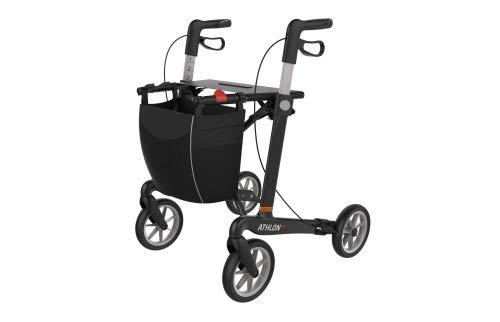Rehasense Athlon SL Komfort S Carbon Rollator schwarz