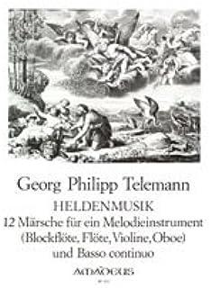 AMADEUS TELEMANN G.P. - Héroe musculatura clásica notas flauta dulce