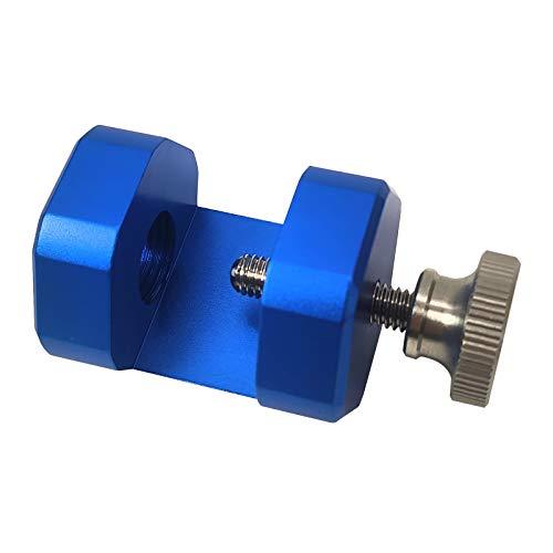 MagiDeal Herramienta de Separación de Bujías de Coche de 14 Mm Roscada, Hecha de Material de Aluminio de Calidad (Azul)