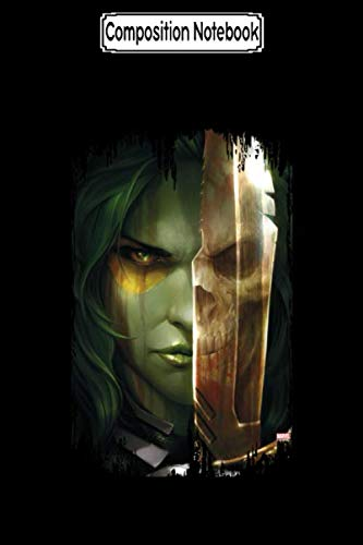 Composition Notebook: Guardians of the Galaxy Gamora With Blade All-Over-Print Guardians of the Galaxy Journal/Notebook Blank Lined Ruled 6x9 100 Pages