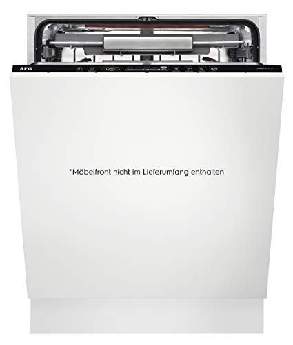 AEG FSE63800AP Vollintegrierter-Geschirrspüler/60cm/ComfortLift - Hebefunktion/Energieklasse D/energiesparend/Besteckschublade/QuickSelect Display/ Beladungserkennung /Wasserstopp /extra leise
