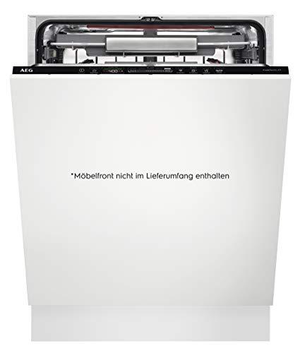 AEG FSE63800AP Vollintegrierter-Geschirrspüler / 60cm / ComfortLift - Hebefunktion / A+++ / energiesparend / Besteckschublade / QuickSelect Display / Beladungserkennung / Wasserstopp / extra leise